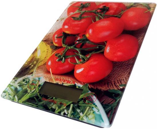 Весы кухонные Supra BSS-4205 рисунок весы supra bss 2003 до 180кг цвет белый рисунок [10899]