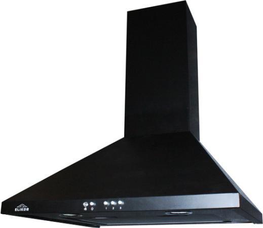 Вытяжка каминная Elikor Вента 50П-430-К3Д черный