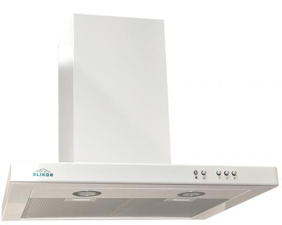 Вытяжка каминная Elikor Квадра 60П-430-К3Д белый цена и фото