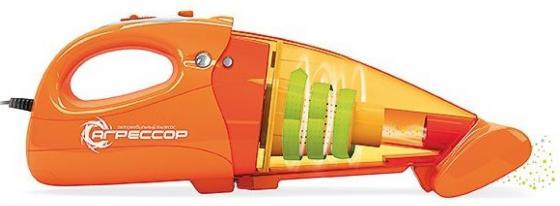 Автомобильный пылесос Агрессор AGR-100H сухая уборка оранжевый автомобильный пылесос агрессор agr 100h сухая уборка оранжевый