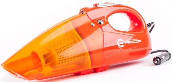 Автомобильный пылесос Агрессор AGR-100H Turbo сухая уборка оранжевый пылесос автомобильный агрессор agr 170t