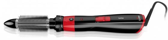 Фен-щетка GA.MA Multistyler Turbo 1200Вт красный чёрный GH0101 фен щетка remington as 1220 1200вт черный