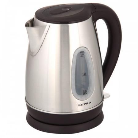 Чайник электрический Supra KES-1839W 2200 Вт Нержавеющая сталь 1.8 л нержавеющая сталь чайник supra kes 1838 2200 вт 1 8 л