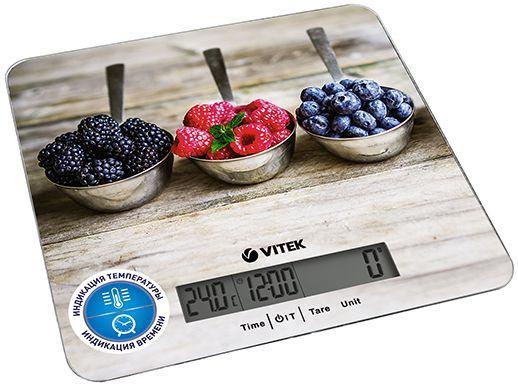 Весы кухонные Vitek VT-2429 MC рисунок кухонные весы vitek vt 8025 mc