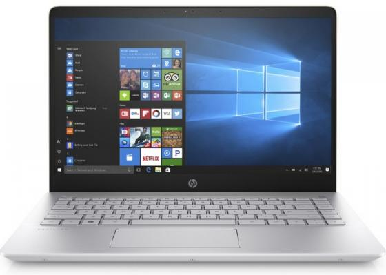 Ноутбук HP Pavilion 14-bf025ur 14 1920x1080 Intel Core i3-7100U 256 Gb 4Gb Intel HD Graphics 620 золотистый Windows 10 Home 2PY62EA