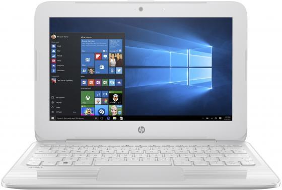 Ноутбук HP Stream 11-y013ur 11.6 1366x768 Intel Celeron-N3060 32 Gb 4Gb Intel HD Graphics 400 белый Windows 10 Home 2EQ27EA ноутбук hp 15 ra042ur 15 6 1366x768 intel celeron n3060 500 gb 4gb intel hd graphics 400 черный windows 10 home 3qs74ea