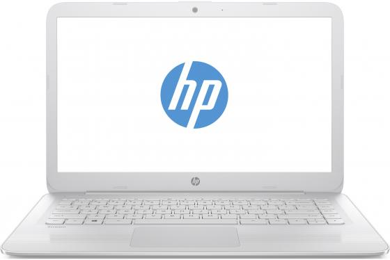 "Ноутбук HP Stream 14-ax017ur 14"" 1366x768 Intel Celeron-N3060 32 Gb 4Gb Intel HD Graphics 400 белый Windows 10 Home 2EQ34EA"