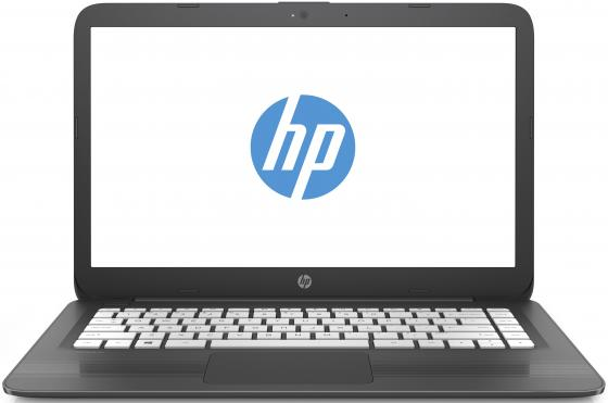 Ноутбук HP Stream 14-ax018ur 14 1366x768 Intel Celeron-N3060 32 Gb 4Gb Intel HD Graphics 400 серый Windows 10 Home 2EQ35EA ноутбук hp stream 14 ax005ur