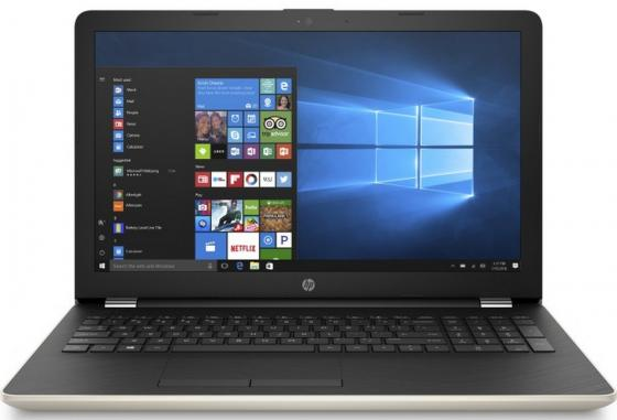 Ноутбук HP 15-bs085ur 15.6 1920x1080 Intel Core i7-7500U 1 Tb 128 Gb 6Gb AMD Radeon 530 4096 Мб золотистый Windows 10 Home 1VH79EA