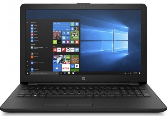 Ноутбук HP 15-bs103ur 15.6 1920x1080 Intel Core i5-8250U 1 Tb 128 Gb 6Gb AMD Radeon 520 2048 Мб черный Windows 10 Home 2PP22EA