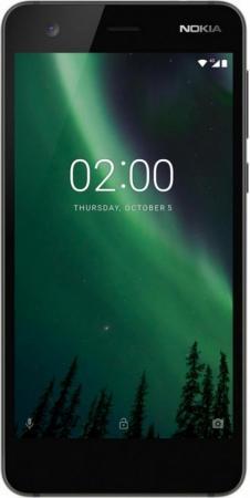 Смартфон NOKIA 2 Dual sim черный 5 8 Гб LTE Wi-Fi GPS 3G TA-1029 смартфон nokia 8 dual sim polished blue
