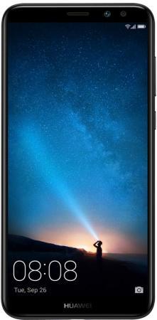 Смартфон Huawei Nova 2i черный 5.9 64 Гб LTE Wi-Fi GPS 51091YGB смартфон huawei nova серебристый 51090xla