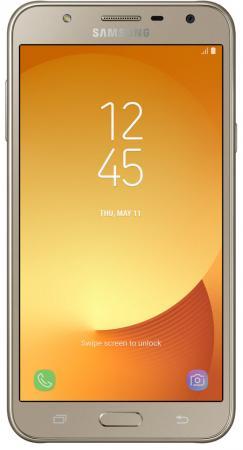 Смартфон Samsung Galaxy J7 Neo золотистый 5.5 16 Гб LTE Wi-Fi GPS 3G SM-J701FZDDSER смартфон samsung galaxy j3 2016 белый 5 8 гб lte wi fi gps 3g duos sm j320fzwdser