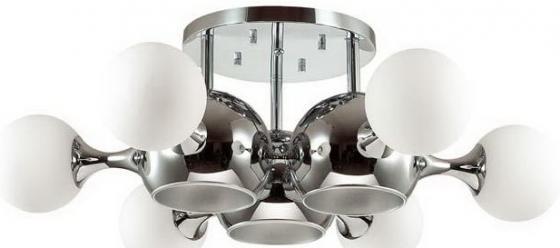 Потолочная люстра Odeon Light Miolla 3972/9C odeon light 2599 9c odl14 538 хром хрусталь бургунди прозрачный люстра потолочная g9 6 40w 220v pavia