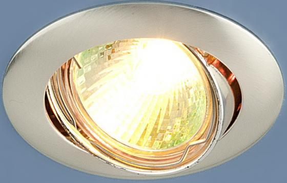 Встраиваемый светильник Elektrostandard 104S MR16 SS сатин серебро 4690389060281 точечный светильник elektrostandard 863a ss сатин серебро
