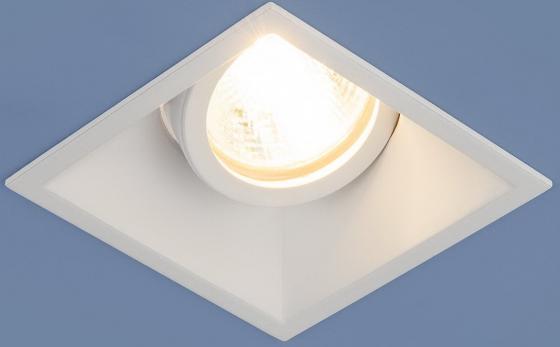 Встраиваемый светильник Elektrostandard 6070 MR16 WH белый 4690389097997