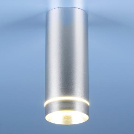 Потолочный светодиодный светильник Elektrostandard DLR022 12W 4200K хром матовый 4690389102950 elektrostandard накладной точечный светильник elektrostandard dlr022 12w 4200k черный матовый 4690389102967