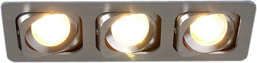 Встраиваемый светильник Elektrostandard 1021/3 MR16 CH хром 4690389056253 встраиваемый светильник elektrostandard техно 1021 1