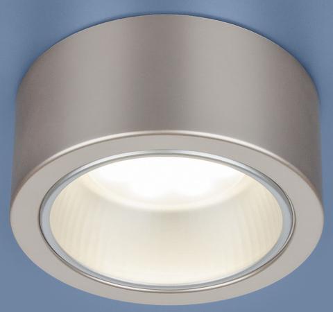 Накладной светильник Elektrostandard 1070 GX53 GD шампань 4690389087547 накладной светильник 1070 gx53 wh белый elektrostandard