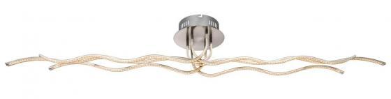 Потолочный светодиодный светильник с пультом ДУ Globo Wave 67822-45F