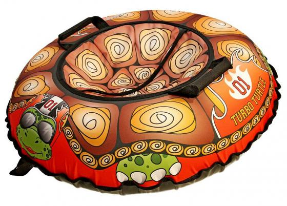 тюбинги r toys 118 см Тюбинг R-Toys Эксклюзив Турбо черепаха ПВХ ткань оранжевый