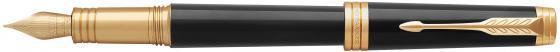 Перьевая ручка Parker Premier F560 Lacque Black GT F 1931409 ручка перьевая parker premier fountain pen medium point