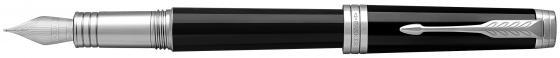 Перьевая ручка Parker Premier F560 Lacque Black СT F 1931413 ручка перьевая parker premier fountain pen medium point