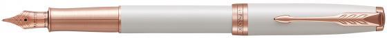 Перьевая ручка Parker Sonnet Premium F540 Pearl PGT F 1931552 набор parker sonnet f540 ручка перьевая блокнот 1978401 page 5