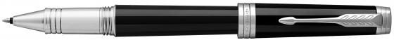Ручка-роллер Parker Premier T560 Lacque Black CT черный F 1931415 тинт для губ chupa chups velvet lip tint 01 цвет 01 coral chiffon variant hex name d83d34