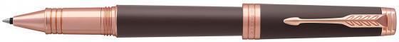 Ручка-роллер Parker Premier T560 Soft Brown PGT черный F 1931407 hidesign business parker 01 parker 01 brown