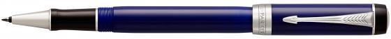 Ручка-роллер Parker Duofold T74 Blue/Black CT черный F 1947987 роллер parker duofold t74 black gt fblack s0690470