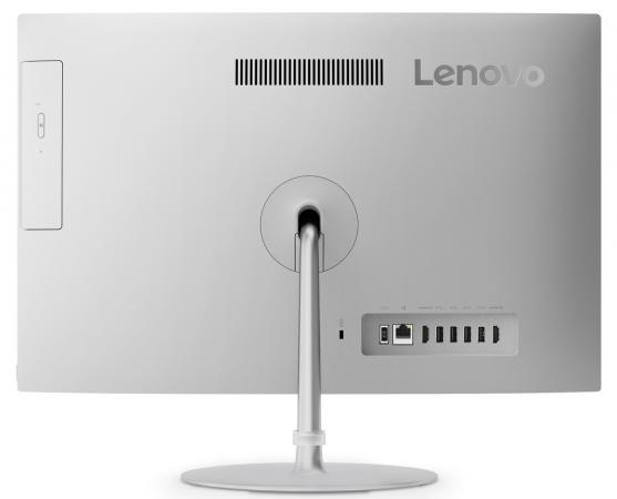 Моноблок Lenovo IdeaCentre AIO520-22IKU  21.5'' FHD(1920x1080)/Intel Core i5-7200U 2.50GHz Dual/4GB/1TB/GMA HD/noDVD/WiFi/BT4.0/CR/16GB Optane Memory/KB+MOUSE(USB)/W10H/1Y/SILVER
