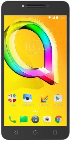 Смартфон Alcatel A5 5085Q серебристый 5.2 16 Гб LTE Wi-Fi GPS 3G 5085Q-2BALRU1 смартфон alcatel onetouch ot6055k idol 4 серый 5 2 16 гб nfc lte wi fi gps 3g