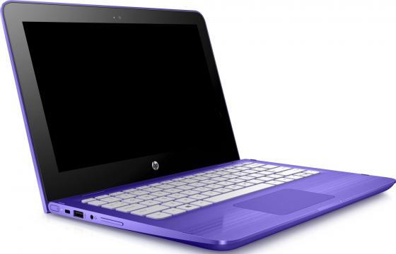 "Ноутбук HP Stream x360 11-aa010ur 11.6"" 1366x768 Intel Celeron-N3060 32 Gb 2Gb Intel HD Graphics 400 фиолетовый Windows 10 Home 2EQ09EA"