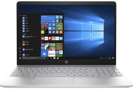 Ноутбук HP Pavilion 15-ck017ur 15.6 1920x1080 Intel Core i5-8250U 500 Gb 4Gb nVidia GeForce GT 940MX 2048 Мб серебристый Windows 10 Home 2VZ81EA