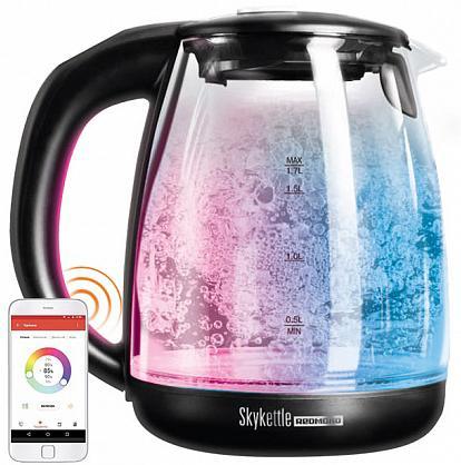 Чайник Redmond SkyKettle G210S 2200 Вт чёрный 1.7 л стекло