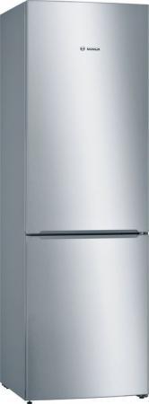 Холодильник Bosch KGN36VL21R серебристый двухкамерный холодильник bosch kgn 36 vw 21 r