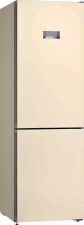 Холодильник Bosch KGN36VK21R бежевый двухкамерный холодильник bosch kgn 36 vw 21 r