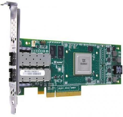 Контроллер Lenovo QLogic 16Gb FC 2-port HBA for IBM System x 00Y3341 papst for fru 44x3472 ebmpapst k3g200 ac56 12 200 240vac 4 3a 850w for ibm for lenovo bladecenter server blower fan