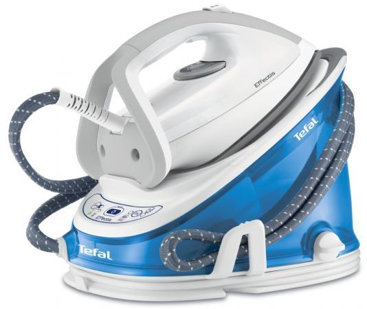 Утюг Tefal GV6732E0 2200Вт белый синий цена и фото
