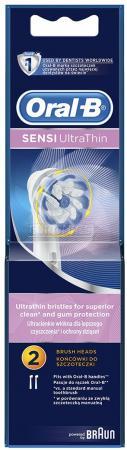 цена на Насадка для зубной щётки Braun Oral-B Sensi Ultrathin 2шт