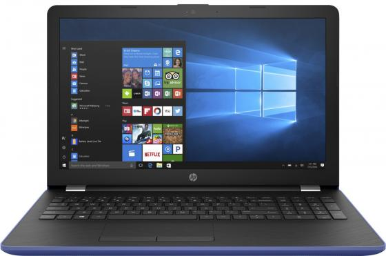 Ноутбук HP 15-bs590ur 15.6 1920x1080 Intel Pentium-N3710 500 Gb 4Gb Intel HD Graphics 405 синий Windows 10 Home 2PV91EA моноблок 23 8 hp pavilion 24 r028ur 1920 x 1080 intel pentium g4560t 4gb 1 tb intel hd graphics 610 windows 10 home белый 2mj53ea