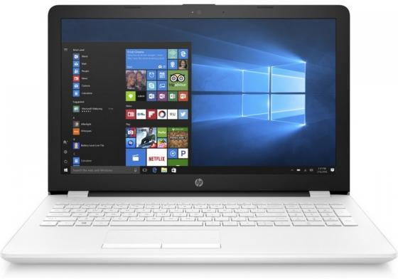 Ноутбук HP 15-bs111ur 15.6 1920x1080 Intel Core i7-8550U 1 Tb 128 Gb 8Gb Intel UHD Graphics 620 белый Windows 10 Home 2PP31EA ноутбук hp pavilion 15 ck004ur 15 6 1920x1080 intel core i5 8250u 1 tb 4gb intel uhd graphics 620 золотистый windows 10 home 2pp67ea