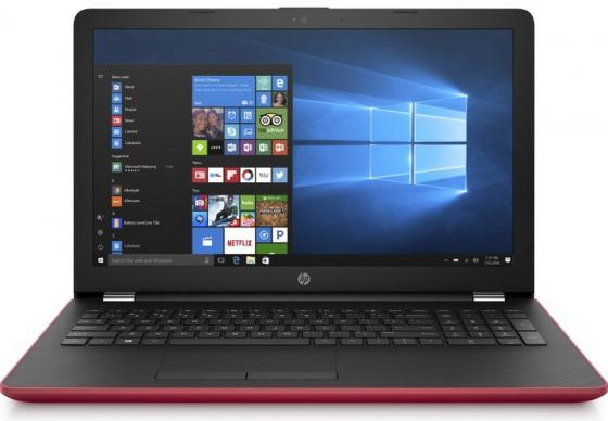 Ноутбук HP 15-bs109ur 15.6 1920x1080 Intel Core i5-8250U 1 Tb 128 Gb 6Gb AMD Radeon 520 2048 Мб красный Windows 10 Home 2PP29EA