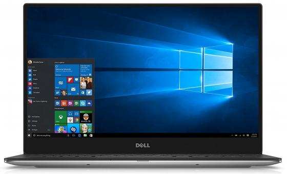 "Ультрабук DELL XPS 13 13.3"" 3200x1800 Intel Core i7-8550U 512 Gb 16Gb Intel UHD Graphics 620 серебристый Windows 10 Home 9360-5563"