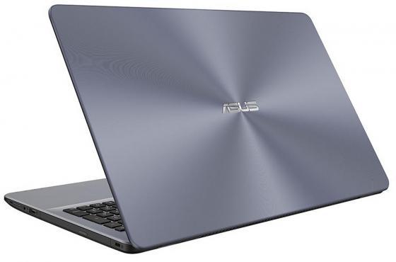 "Ноутбук ASUS VivoBook 15 X542UQ-DM274T 15.6"" 1920x1080 Intel Core i3-7100U 500 Gb 6Gb nVidia GeForce GT 940MX 2048 Мб серый Windows 10 Home 90NB0FD2-M03830"