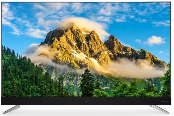 Телевизор LED 70 TCL L70C2US серебристый 3840x2160 60 Гц Wi-Fi Smart TV S/PDIF RJ-45 телевизор 32 tcl led32d2930 черный 1366x768 60 гц wi fi smart tv usb vga s pdif rj 45