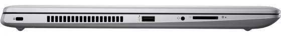 "Ноутбук HP ProBook 470 G5 17.3"" 1600x900 Intel Core i5-8250U 256 Gb 8Gb nVidia GeForce GT 930MX 2048 Мб серебристый Windows 10 Professional 2VP93EA"