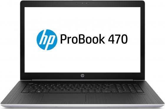 "Ноутбук HP Probook 470 G5 17.3"" 1920x1080 Intel Core i7-8550U 512 Gb 8Gb nVidia GeForce GT 930MX 2048 Мб серебристый Windows 10 Professional 2UB73EA"
