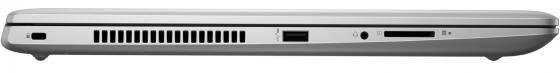 "Ноутбук HP ProBook 470 G5 17.3"" 1920x1080 Intel Core i5-8250U 512 Gb 8Gb nVidia GeForce GT 930MX 2048 Мб серебристый Windows 10 Professional 2UB72EA"